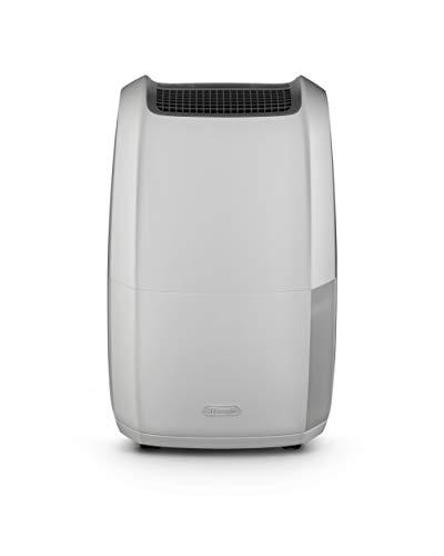 De'Longhi Luftentfeuchter Tasciugo Ariadry Multi DDSX225 – elektrischer Raumentfeuchter & Luftreiniger, mobiles Gerät für Räume bis 100 m³, mit Wäsche-Funktion, umweltfreundlich, grau