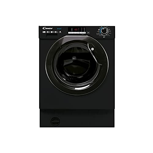 CANDY CBD 495D1WBBE-80 Integrated Washer Dryer, 9&5kg, 1400 rpm Black, One Size
