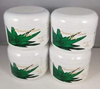 Hawaiian Moon Aloe Cream - 9 Oz Skin Care Jar - Pack of 4