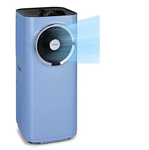 Klarstein Kraftwerk Smart - aire acondicionado portátil, 3-in-1: Enfriador, deshumidificador, ventilación, clase A, wifi: Control por app, 12.000 BTU / 3,5 kW, para salas: 35-59 m², azul pastel