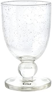 Tag Bubble Glass Goblet Glass 10 Oz