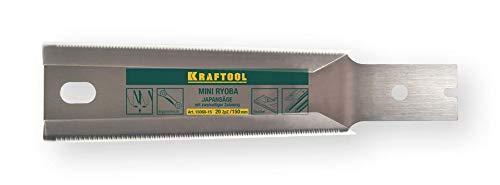 Kraftool Ersatz-Sägeblatt Ryoba Mini 150 mm, 17 Zähne pro Zoll, für Japansäge Ryoba.
