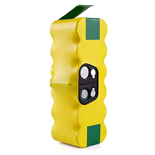 Powayup 14.4V 4500mAh Ni-MH Akku für iRobot Roomba 500 600 700 800 Serie Ersatz für Roomba Akku 510 520 530 550 555 560 580 585 610 620 630 650 660 760 770 780 790 870 880
