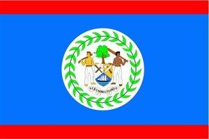 Belize Fahne Flagge Grösse 1,50x0,90m