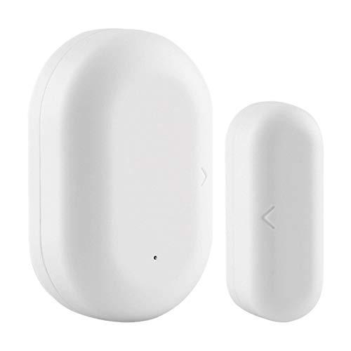 Huante Tuya ZigBee Window Door Gate Sensor Detector Life Tuya App Sistema de Alarma de Seguridad para el Hogar Sensor de Puerta y Ventana