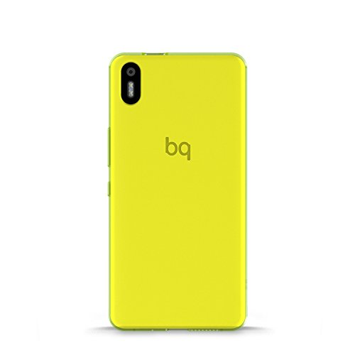 BQ Aquaris X5 Schutzhülle Gummie grün