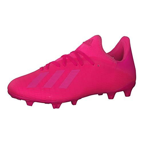 adidas Herren Fussballschuhe X 19.3 FG Shock Pink/Shock Pink/Shock Pink 43 1/3