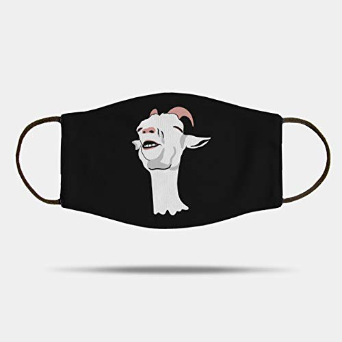Relieved Goat Meme Mask Fabric Face Mask,Washable and Reusable Mask, Xmas Gift