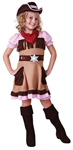 Bristol Novelty CC494 Cowgirl Kostüm, Mehrfarbig, Large(134-146 cm)