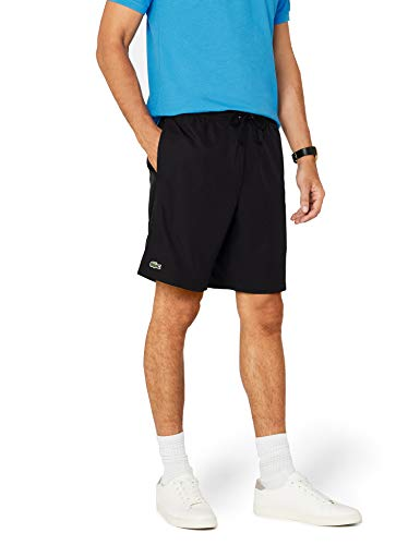 Lacoste Herren GH353T Poloshirt, Black, M