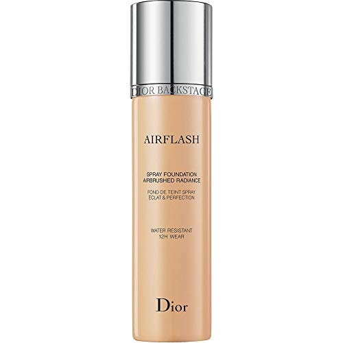Christian Dior Backstage Airflash Spray Foundation, 201 Linen, 2.3 Ounce, Clean