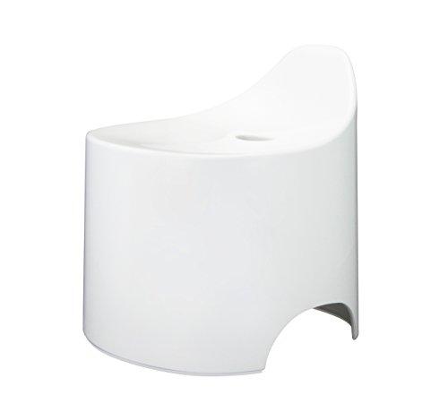 シンカテック 風呂椅子 デュロー バススツール N ホワイト Drp-W