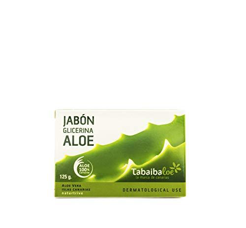 Glycerin-Seife mit Aloe Vera 125 gr Tabaibaloe