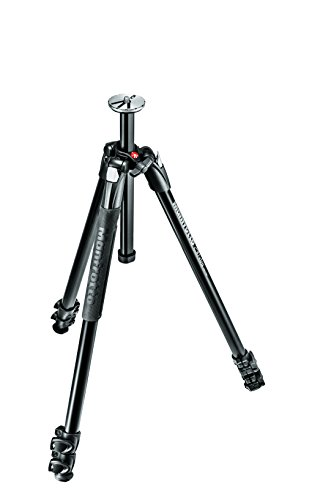 Manfrotto 290 Xtra Aluminum 3-Section Tripod (MT290XTA3US),Black