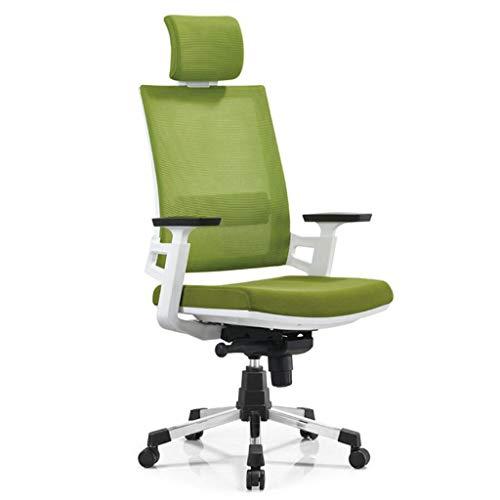 Fauteuils De Bureau, Chaises De Jeu, Tables Et Chaises Informatiques Rotatives, Chaises Longues Ergonomiques (Couleur : Vert)