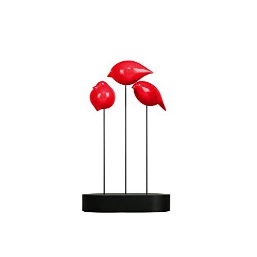 Moderne Simple Résine Sculpture Décoration Artisanat Creative Salon TV Accueil Cadeaux Artisanat Ornements GAOLILI (Color : Red, Design : B)