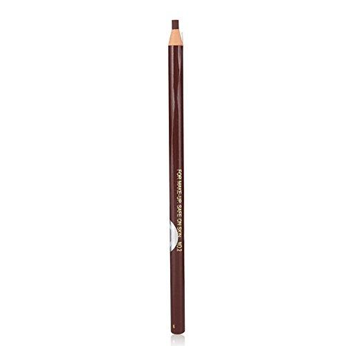 LecimoRotbraun Wasserdichter Augenbrauen Bleistift Augenbraue Puder Eyeliner Stift Make-up kosmetische Werkzeug