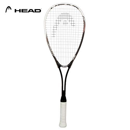 HEAD Squashschläger Nano Ti Spector 2.0, Schwarz/ Weiß
