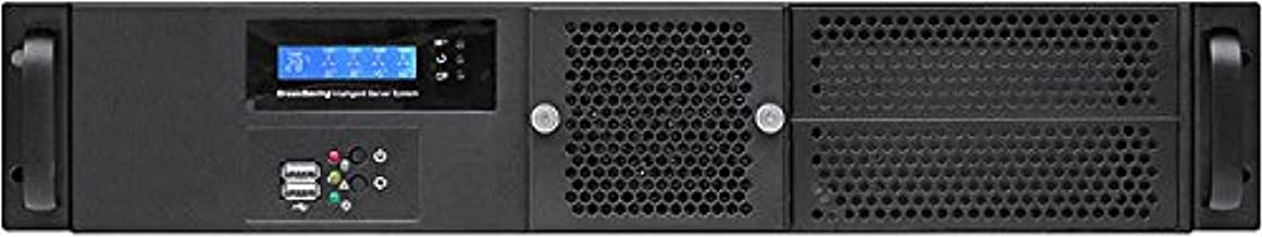 IPC-G252S 3 Riser//6slot ATX//Miicro-ATX//Mini ITX NO Power Supply,No Rail,No System and Case Only 2U Redundant PSU OK Lock Doo Rackmount Chassis 5.25+2x3.5+2x2.5 Fan LCD PLINKUSA RACKBUY 2U D14.96