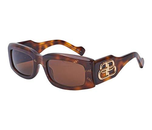 Balenciaga gafas de sol BB0071S 002 Habana brown tamaño de 54 mm de Mujer