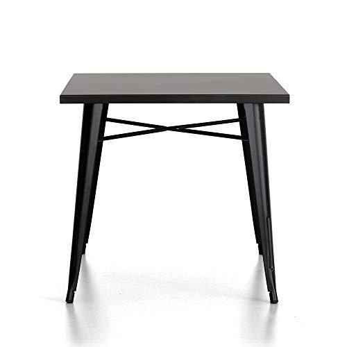 Cribel Industrial Table, métal, Blanc