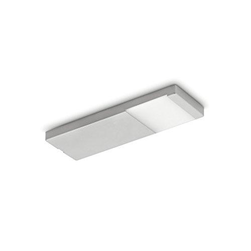NABER Yolo Neo LED Einzelleuchte mit Schalter Unterbauleuchte / Edelstahlfarbig / 3 Watt / Warmweiß