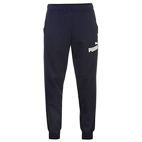 PUMA No 1 Logo Herren Trainingshose Jogginghose Sporthose Sweathose Freizeit Blau Large
