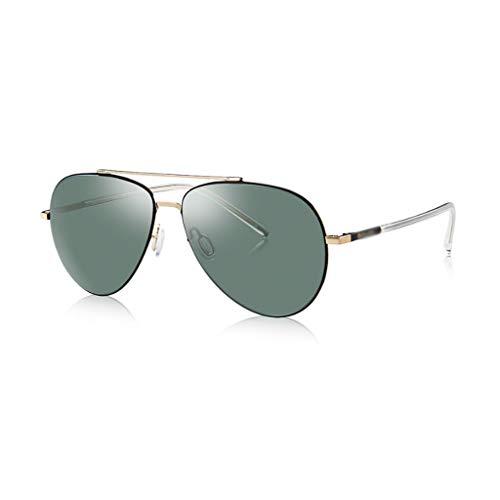 ZHANGJINYISHOP2016 Lente polarizada HD Polarizada Gafas de Sol Retro Gafas de Moda Gafas de Sol al Aire Libre de los vidrios de Viaje de conducción Ultraligero, Elegante y Duradero