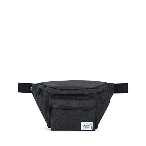 Herschel Seventeen Hip Pack Black Crosshatch