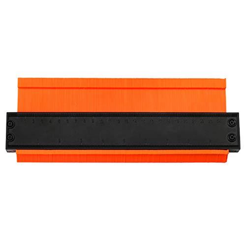 ORETG45 - Duplicador portátil para carpintería de plástico ABS con formas irregulares y laminado, multiusos, precisión gh para tuberías, alicatado, herramienta de perfil de regla (5 pulgadas), No nulo, como se muestra en la imagen, 10inch