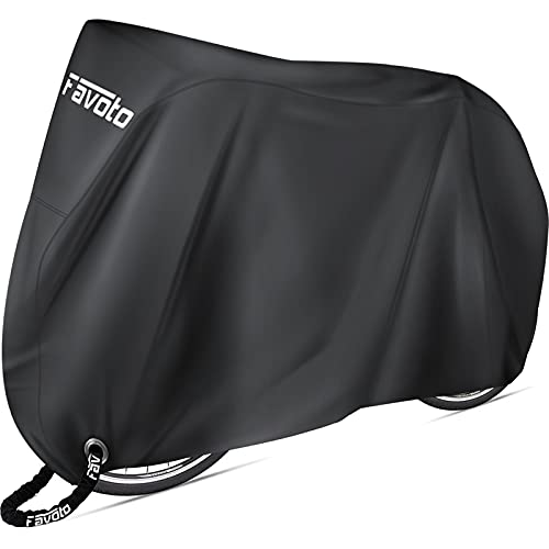 Favoto Bike Cover Waterproof Outdoor Bicycle Cover Thicken Oxford 29 Inch Windproof Snow Rustproof...