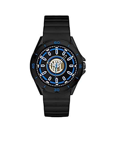 Reloj de pulsera diámetro 36 mm Inter Challenge de cuarzo negro con logo