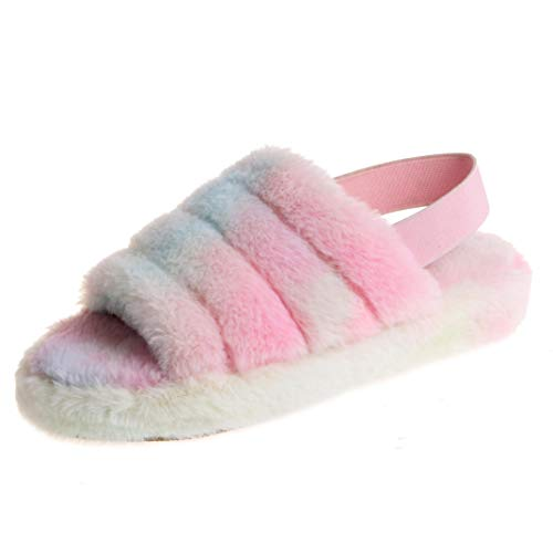 (45% OFF Coupon) Ladies Fuzzy Slippers $13.74