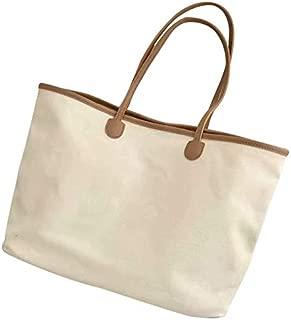 TOOGOO Black Women Bags Korean Canvas Female Handbags Shoulder Bag Ladies Handbags Casual Canvas Tote Bag Beach Bag