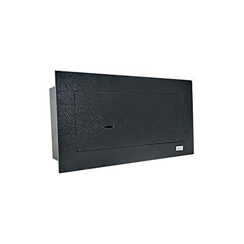Caja fuerte de Dirty Pro Tools™, resistente, con llave de seguridad, para colocar en el suelo y ocultarla bajo un sofá o los tablones