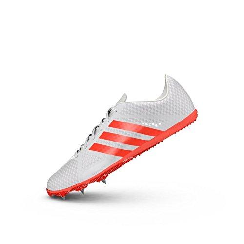 adidas Adizero Ambition 3 Clavos de Carrera para Hombres/Zapatillas de deporte-White-47.33