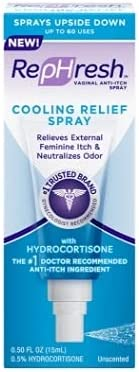 RepHresh Cooling Relief Spray, 0.5 Ounce (Pack of 3)
