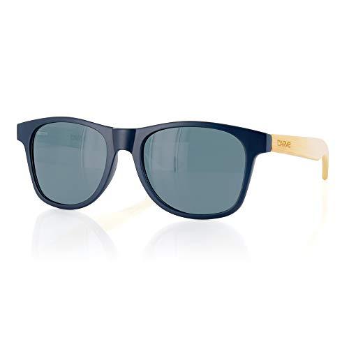 Carve Bondi Gafas de sol, Navy/Bamboo, 55 Unisex