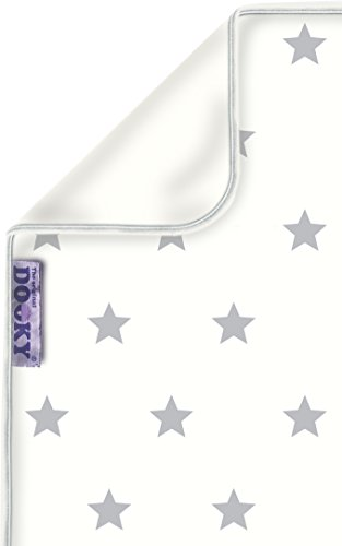 Dooky Blanket (Silver Stars) Dooky A universal and multifunctional blanket Made from 100% luxurious breathable cotton Perfect for any car seats, pushchairs, prams or carry cots 1