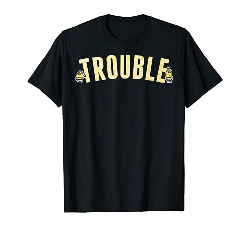 Despicable Me Minions Prison Suit Trouble Graphic T-Shirt