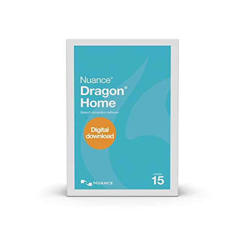 Dragon Home 15.0, Dictate Documents and Control your PC – all by Voice, [PC Download]