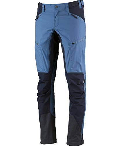 Lundhags Makke - Pantalon Long Homme - Long Bleu Modèle EU 56L | XXL (Long) 2018