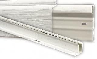 Mobile Home Vinyl Skirting White Upper & Lower Underpinning Track Trim Kit (58 Feet)