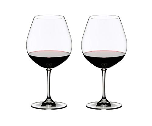 Riedel VINUM Pinot Noir Glass, Set of 2, Clear