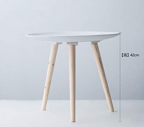JD Bug Corner salontafel Salontafel Bloemenvaas Tafel Kleine pallet houder Creatieve decoratie, B-40 * 40 * 42cm