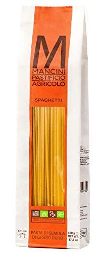 Pasta Mancini - Spaghetti gr 500 - Confezione In Busta Trasparente