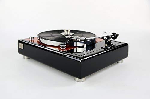 Restaurierter & Modifizierter Thorens TD 150 Plattenspieler orange metallic