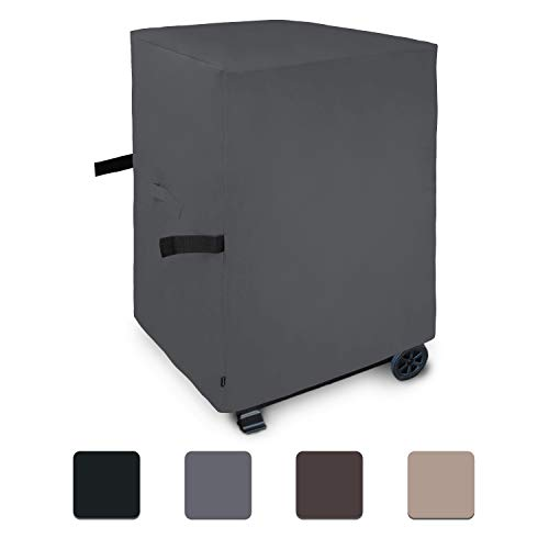 Easy-Going Heavy Duty Gas Grill Cover, 30-inch Waterproof BBQ Grill Cover,UV & Dust & Weather Resistant Material,Durable and Convenient (30 in,Dark Gray) Covers Grill