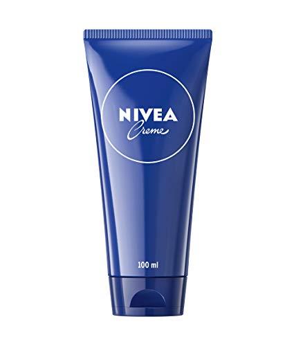 Nivea Creme, klassische Hautcreme für den ganzen Körper, pflegende Feuchtigkeitscreme in der praktischen Tube (1 x 100 ml)