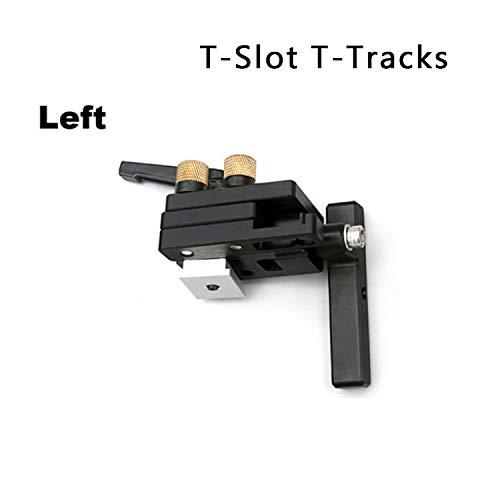Type-75 Mitre Track Stop en acier alli/é pour les rails en T T-Slot Woodworking DIY outil pr/écis longueur dispositif limite